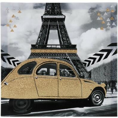 Obraz na płótnie Paris, 39 x 39 cm