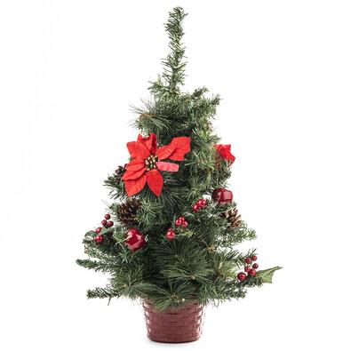 Vánoční stromeček zdobený 55 cm