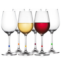 Tescoma 6dílna sada sklenic na víno UNO VINO 350 ml