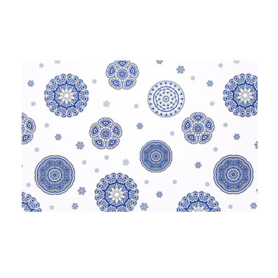 Podkładka Blue Laces biały, 28 x 43 cm