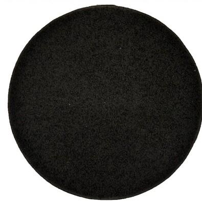 Kusový koberec Elite Shaggy čierna, priemer 120 cm
