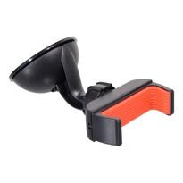 Compass Side tapadókorongos telefon/GPS tartó, fekete