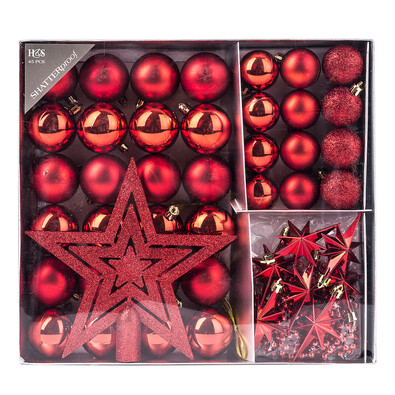 Vánoční set Luxury, červená
