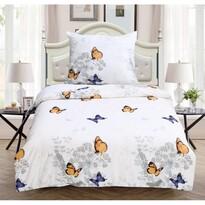 Svietiace obliečky Butterfly, 140 x 200 cm, 70 x 90 cm