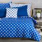 4Home Bavlnené obliečky Modrá bodka, 140 x 200 cm, 70 x 90 cm