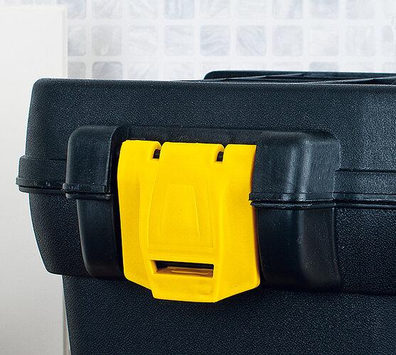 """Kufor na náradie 19,5 """"""""PROFI, čierna + žltá"""