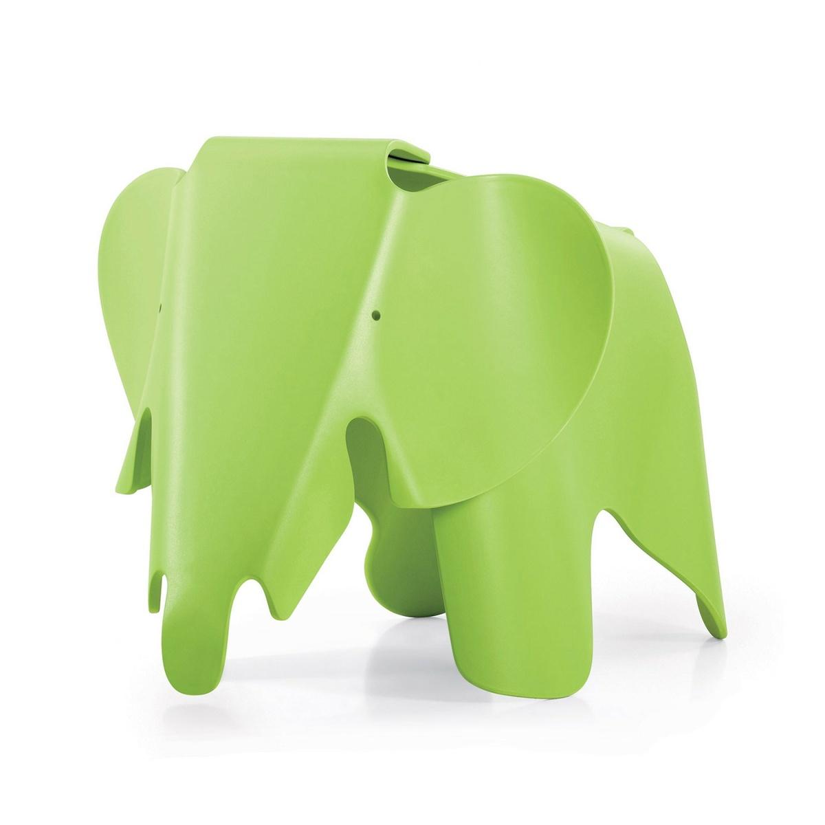 Vitra Detská sedačka EEL Eames Elephant, tmavá limeta