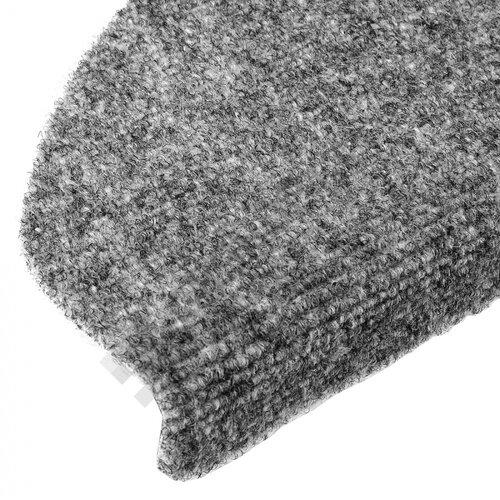 Vopi Nášľapy na schody Topstep 25 x 65 cm - šedá
