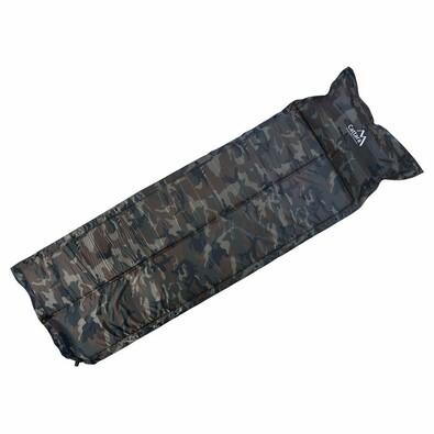 Cattara Samonafukovací karimatkas polštářem Navy 183 x 58 x 2,5 cm