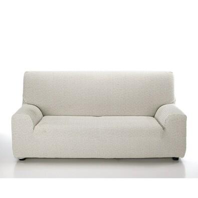 Multielastický poťah na sedaciu súpravu Sada ecru, 140 - 200 cm