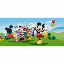 Dětská fototapeta Mickey Mouse a kamarádi, 202 x 90 cm
