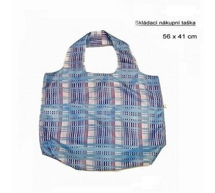 Skládací nákupní taška Famito 0019F kostka