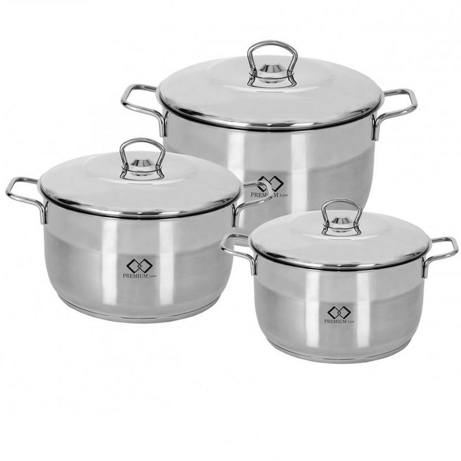 VALERI 6dílná sada nerezového nádobí