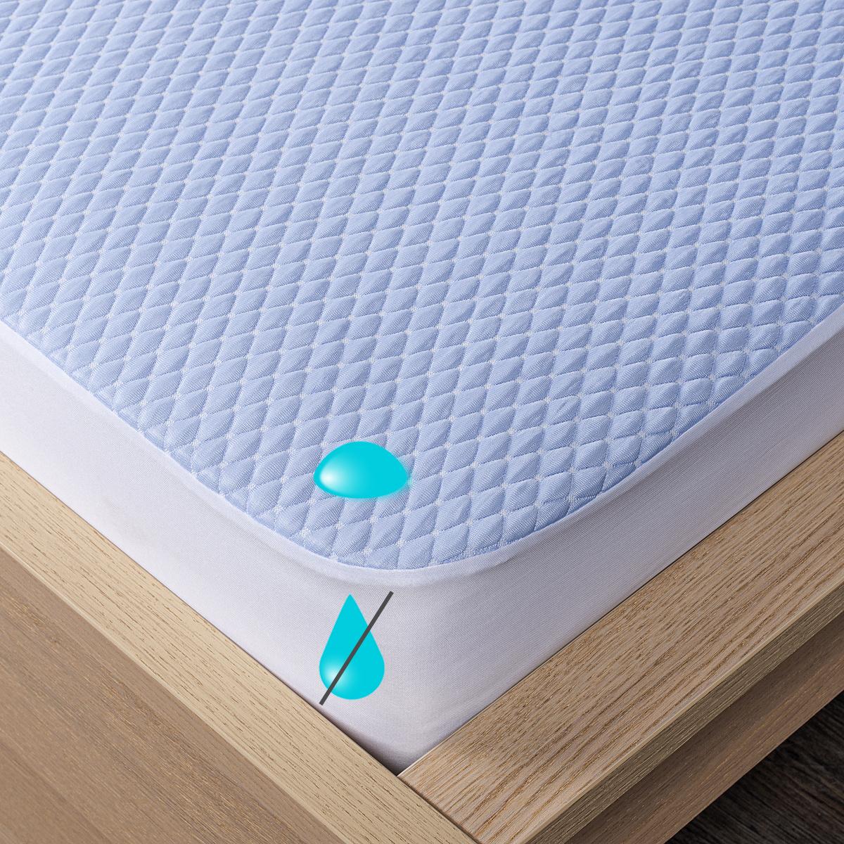 4Home Chladicí nepropustný chránič matrace s lemem Cooler, 160 x 200 cm