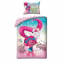 Troll gyermek pamut ágynemű, 140 x 200 cm, 70 x 90 cm