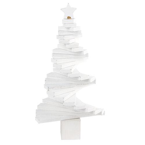 Dekorační nastavitelný stromek, bílá