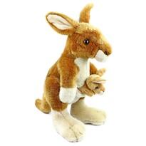 Pluszowy kangur zkangurzątkiem Rappa, 27cm