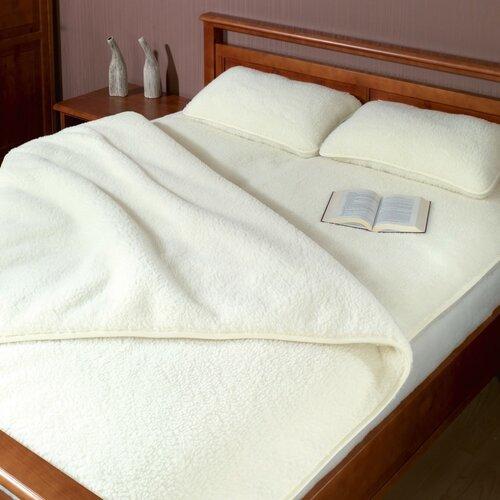 Bellatex Vlněná deka DUO Australské merino beránek, 155 x 200 cm