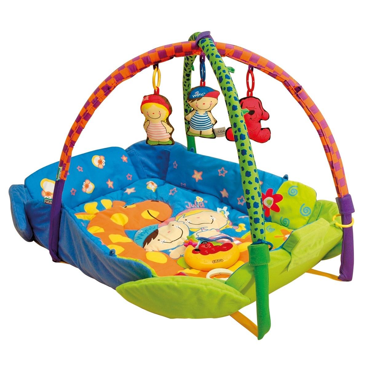 K´s kids Hrací deka s hrazdičkou, 100 x 82 cm