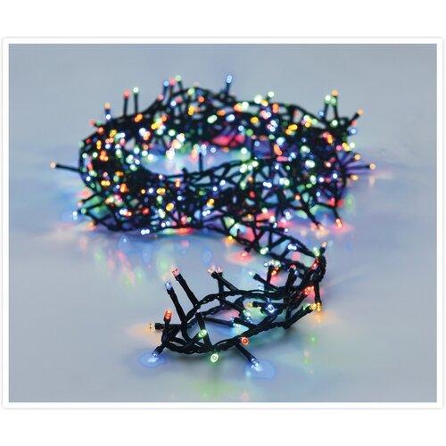 Svetelná vianočná reťaz Twinkle farebná, 700 LED