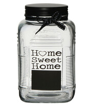 Altom Sklenená dóza Home Sweet Home, 700 ml
