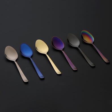 Čajové lžičky Oslo Tea Spoons PVD mix