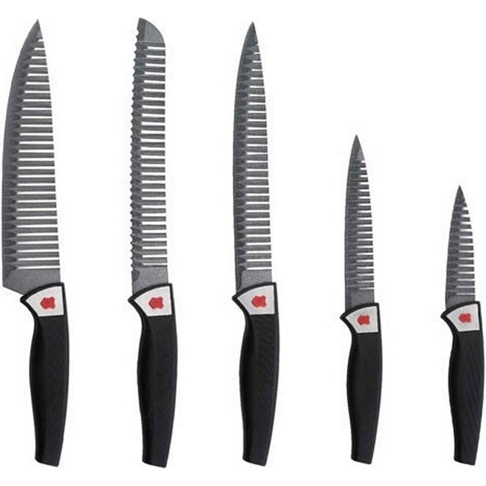 Renberg 5dielna sada nepriľnavých nožov,