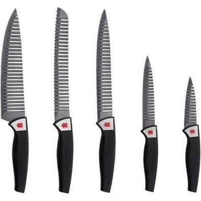 Renberg 5dílná sada nepřilnavých nožů