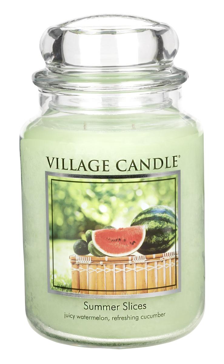 Vonná svíčka, Letní pohoda - Summer Slices, 645 g, 645 g