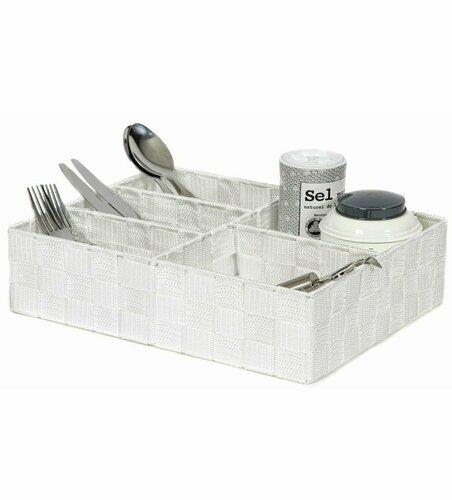 Compactor Organizér na prádlo a doplňky TEX 32 x 25 x 8 cm, bílá