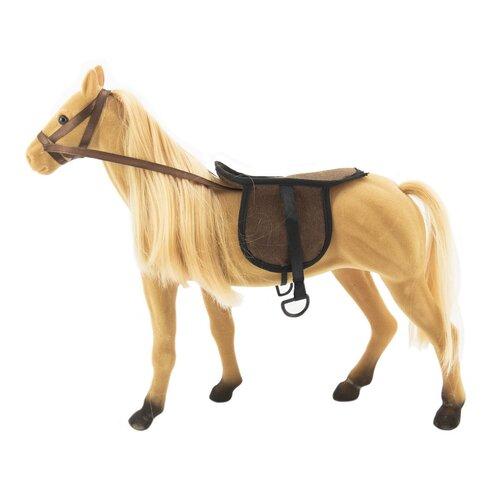 Teddies Koń do czesania z akcesoriami, 38 cm