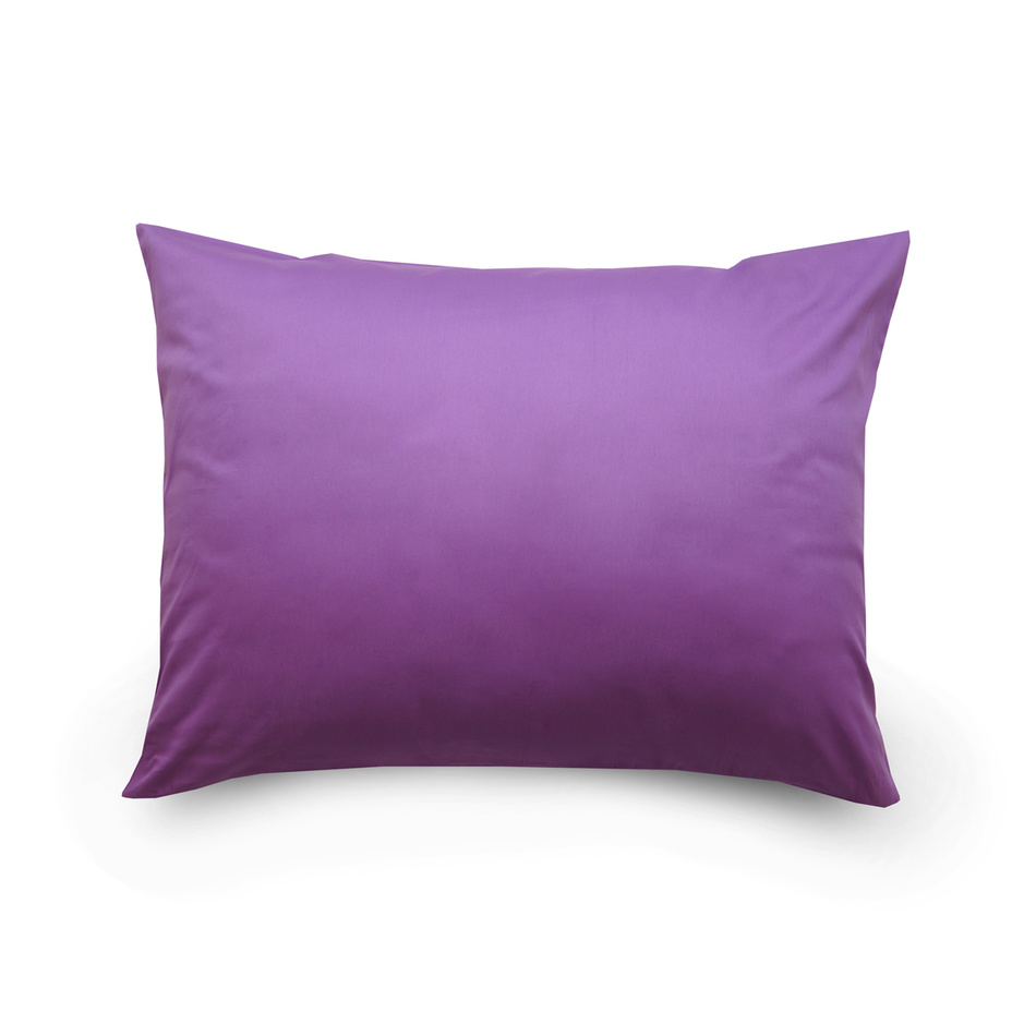 Kvalitex Povlak na polštář satén tmavě fialová, 70 x 90 cm, 70 x 90 cm