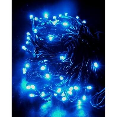 Solight vánoční světelný řetěz 120 LED 5m modrá