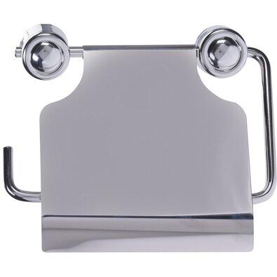 Uchwyt na papier toaletowy Sarmiento, srebrny