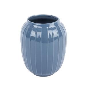 Elegantní váza Lucy tmavě šedá, 19 cm