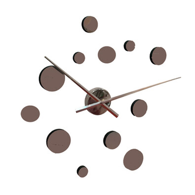 Samolepící hodiny kruhy