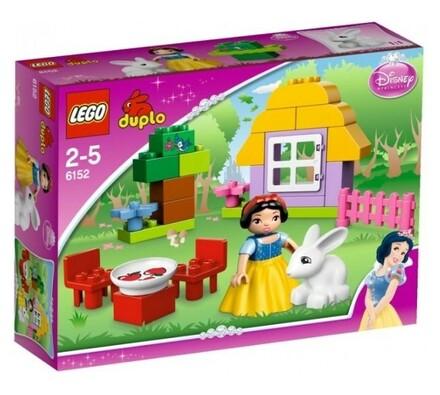 Lego Duplo Sněhurčina chaloupka, vícebarevná