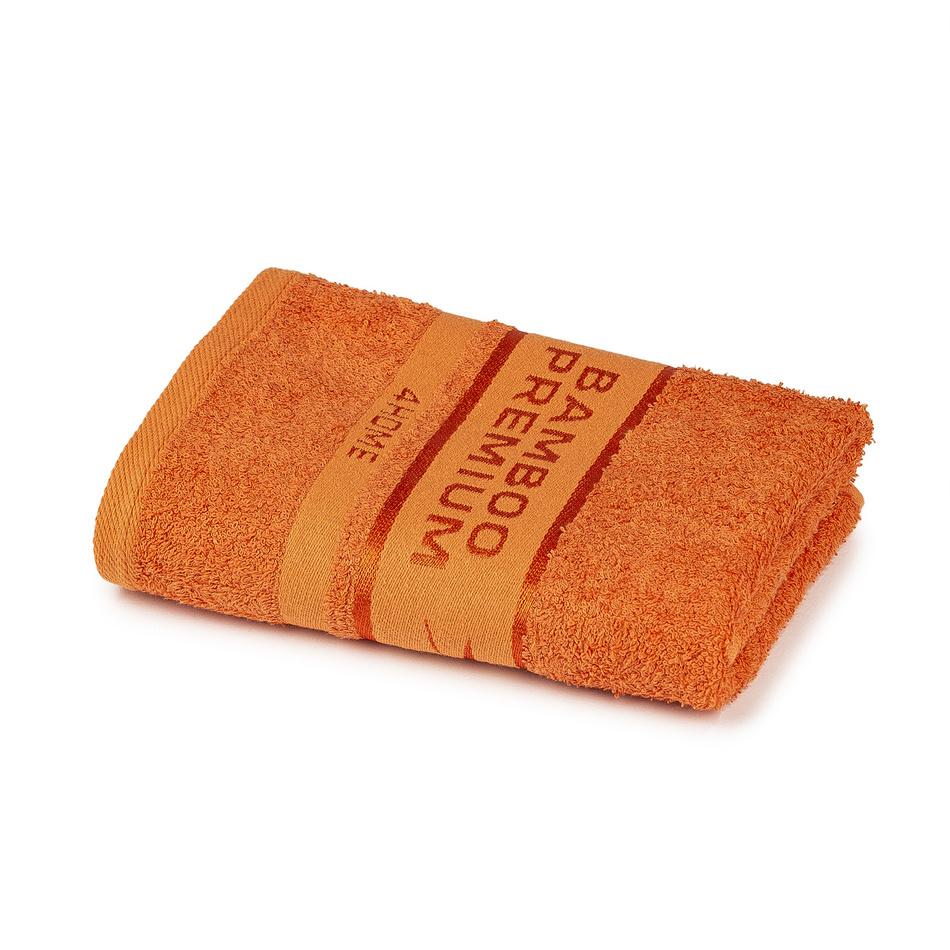 Fotografie 4Home Ručník Bamboo Premium oranžová