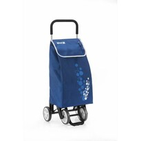 Gimi Nákupná taška na kolieskach Twin modrá, 56 l