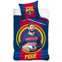 Lenjerie de pat FC Barcelona Pique 2016, 140 x 200 cm, 70 x 90 cm