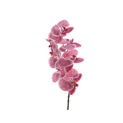 Umělá mnohokvětá Orchidej růžová, 77 cm