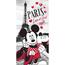 Prosop Mickey  Minnie Love Paris, 70 x 140 cm