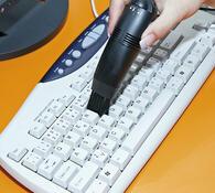 USB vysavač klávesnice