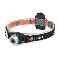 Solight WH22 Čelové LED svietidlo stmievateľné  Cree 3Q, čierna