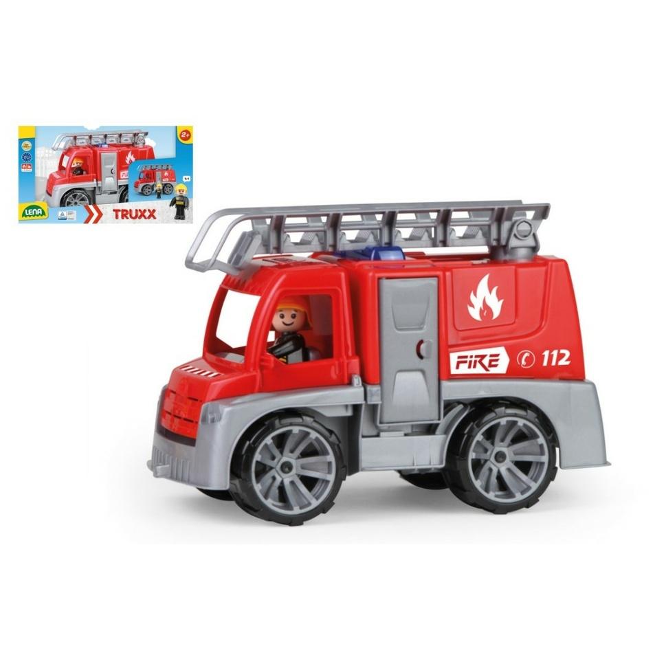 Mașină pompieri Lena Truxx, 29 cm imagine 2021 e4home.ro