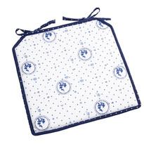 Sedák Country puntík modrá, 40 x 40 cm