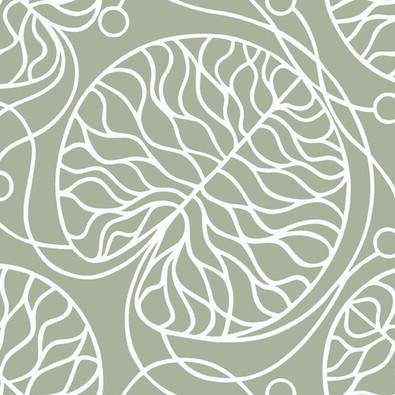 Tapeta Bottna 0,7 x 10 m, szara/biała