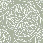 Tapeta Bottna 70 x 100 cm, šedá/bílá