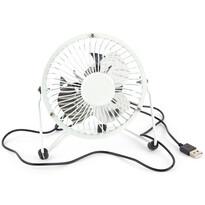 USB větrák bílá, 13,5 x 11 x 15 cm