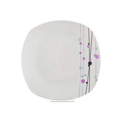 Banquet Valentia 4dílná sada mělkých talířů